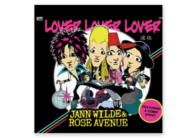 Jann Wilde & Rose Avenue – Lover Lover Lover (2007)