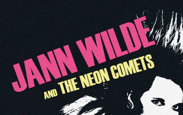 10 vuotta! Jann Wilde & The Neon Comets – Neon City Rockers