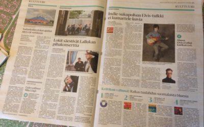 HS: Tamperelainen nelikymppinen Jani Matti Juhani laulaa Elvistä suomeksi indiepoppareille – ja onnistuu yllättämään